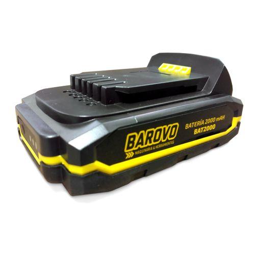 Batería Compacta Barovo Ión De Litio 2 Ah